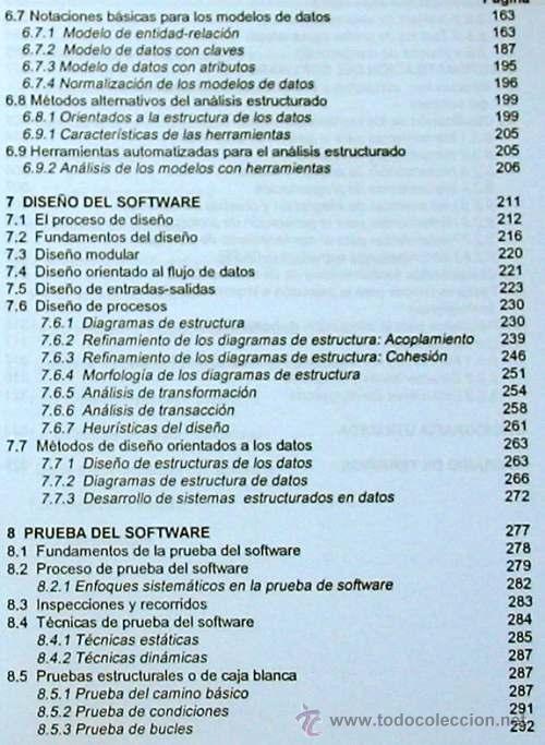 Libros de segunda mano: INGENIERÍA DEL SOFTWARE - UNIVERSIDAD POLITÉCNICA DE MADRID 1995 - 350 PÁGINAS - VER DESCRIPCIÓN - Foto 4 - 38062593