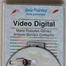 Libros de segunda mano: VIDEO DIGITAL - GUÍA PRÁCTICA ANAYA - 2003 - PRECINTADO Y CON EL DISCO ORIGINAL. Lote 38558114