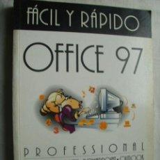 Libros de segunda mano: OFFICE 97 PROFESSIONAL. TRAVERÍA, SANTIAGO Y PRATS, CARLES. 1997. Lote 38585255