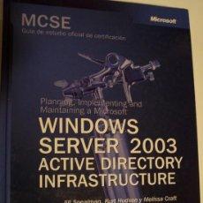Libros de segunda mano - WINDOWS SERVER 2003 - ACTIVE DIRECTORY INFRASTRUCTURE - 38759638