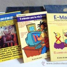 Libros de segunda mano: 3 LIBROS DE INFORMÁTICA ·· VER TITULOS EN DESCRIPCIÓN ·· ARCA DE PAPEL EDITORES. Lote 39017414