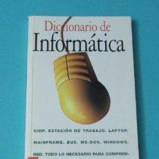 Libros de segunda mano: DICCIONARIO DE INFORMÁTICA. Lote 39156946