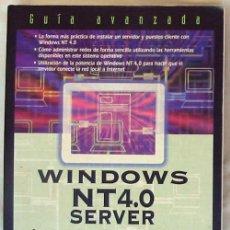 Libros de segunda mano: WINDOWS NT 4.0 SERVER - INSTALACIÓN Y GESTIÓN - GUÍA AVANZADA - PRENTICE HALL 1997 - VER ÍNDICES. Lote 39135028