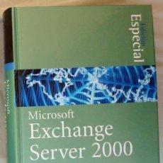 Libros de segunda mano: MICROSOFT EXCHANGE SERVER 2000 - EDICIÓN ESPECIAL - PRENTICE HALL 2001 - VER DESCRIPCIÓN. Lote 39136151