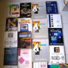 Libros de segunda mano: LOTE DE 22 LIBROS DESCATALOGADOS DIFERENTES DE INFORMÁTICA. Lote 39716877