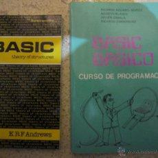 Libros de segunda mano: BASIC BASICO Y BASIC. Lote 39882215
