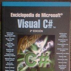 Libros de segunda mano: VISUAL C++ ENCICLOPEDIA DE MICROSOFT. FCO. JAVIER CEBALLOS RA-MA 2007 2ª EDICIÓN. INCLUYE CD. Lote 39907368