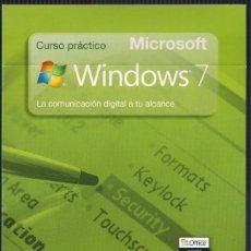 Libros de segunda mano: CURSO PRÁCTICO MICROSOFT WINDOWS 7. Nº 8 UTILIZA WINDOWS LIVE ESSENTIALS. CD EL PAIS 2010. Lote 40699679