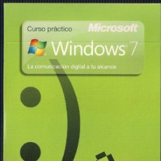 Libros de segunda mano: CURSO PRÁCTICO MICROSOFT WINDOWS 7. Nº 13 REDES SOCIALES E INTERNET. CD EL PAIS 2010. Lote 40707432