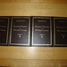 Libros de segunda mano: BIOGRAFÍA POLÍTICA E HISTORIA CANARIA - MARCOS GUIMERÁ PERAZA. Lote 41083697