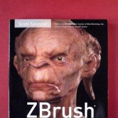 Libros de segunda mano: ZBRUSH. CREACION DE PERSONAJES 3D. ESCULTURA DIGITAL AVANZADA. CON DVD.. Lote 41093433