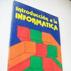Libros de segunda mano: INTRODUCCIÓN A LA INFORMATICA-J. Mª. ANGULO USATEGUI-C.E. ZAPATER JORDA-1987-PARANINFO. Lote 41297736