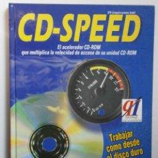 Libros de segunda mano: CD SPEED MARCOMBO DATA BECKER 1995 CD SPEED LIBRO CD ROM RETRO. Lote 41597321