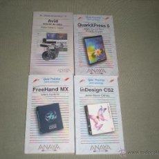 Libros de segunda mano: LOTE DE 4 LIBROS DE INFORMATICA . GUIA PRACTICA PARA USUARIOS . ANAYA. Lote 41952848
