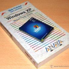 Libros de segunda mano: GUÍA PRÁCTICA PARA USUARIOS - WINDOWS XP PROFESSIONAL - ANAYA - MIGUEL PARDO NIEBLA. Lote 42668193