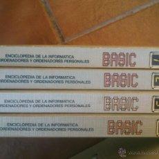 Libros de segunda mano: BASIC ENCICLOPEDIA DE LA INFORMATICA MINIORDENADORES Y ORDENADORES PERSONALES, EDICIONES FORUM, 1983. Lote 42951668