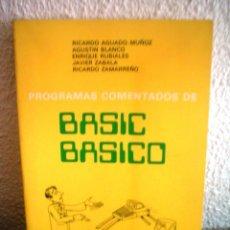 Libros de segunda mano: BASIC BASICO. Lote 43024217