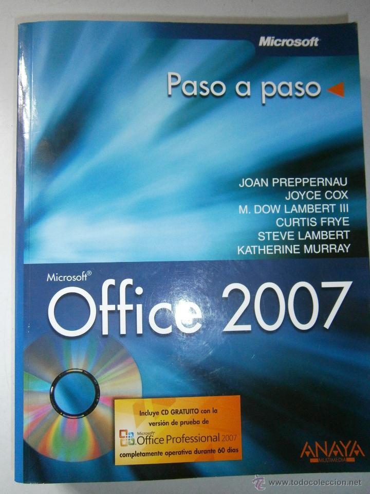 OFFICE 2007 ANAYA 2007 INCLUYE CD (Libros de Segunda Mano - Informática)
