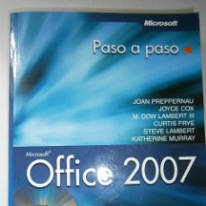 Libros de segunda mano: OFFICE 2007 ANAYA 2007 INCLUYE CD. Lote 43261156