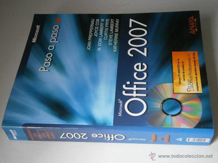 Libros de segunda mano: OFFICE 2007 ANAYA 2007 INCLUYE CD - Foto 2 - 43261156