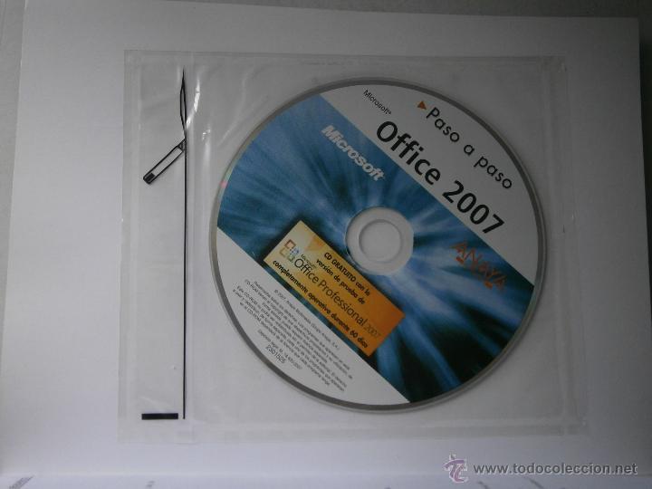 Libros de segunda mano: OFFICE 2007 ANAYA 2007 INCLUYE CD - Foto 5 - 43261156