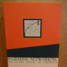 Libros de segunda mano: DOS GRADOS: NETWORKING. CULTIVA TU RED VIRTUAL DE CONTACTOS. SONIA FERNÁNDEZ - 2001. COMO NUEVO. Lote 43317236