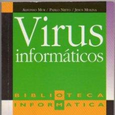 Libros de segunda mano: VIRUS INFORMÁTICOS. Lote 43351686