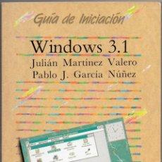 Libros de segunda mano: WINDOWS 3.1. Lote 43373411