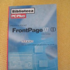 Libros de segunda mano: MANUAL BOLSILLO FRONTPAGE 97 . Lote 43502738