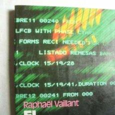 Libros de segunda mano: EL ORDENADOR, EN CASA. VAILLANT, RAPHAËL. 1983. Lote 43703738
