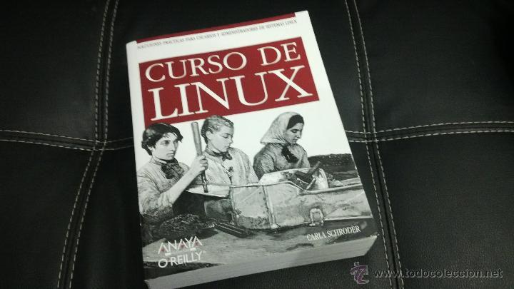 LIBRO CURSO LINUX (Libros de Segunda Mano - Informática)