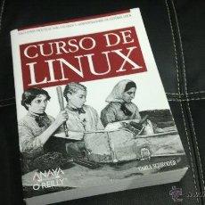 Libros de segunda mano: LIBRO CURSO LINUX. Lote 43869378