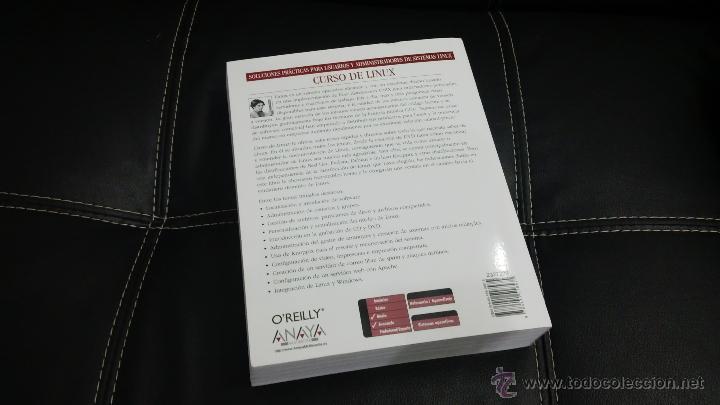 Libros de segunda mano: Libro Curso LINUX - Foto 2 - 43869378