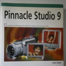 Libros de segunda mano: PINNACLE STUDIO 9 OZER JAN ANAYA MULTIMEDIA 2004. Lote 43890739