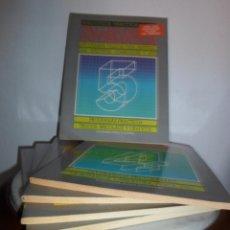 Libros de segunda mano: TALLER DE INFORMÁTICA. BIBLIOTECA PRÁCTICA. VOLUMENES 1 AL 5. Lote 44343695
