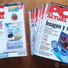 Livros em segunda mão: REVISTA PC ACTUAL, LOTE DE 21 NUMEROS. TAMBIEN SUELTOS. Lote 44537860