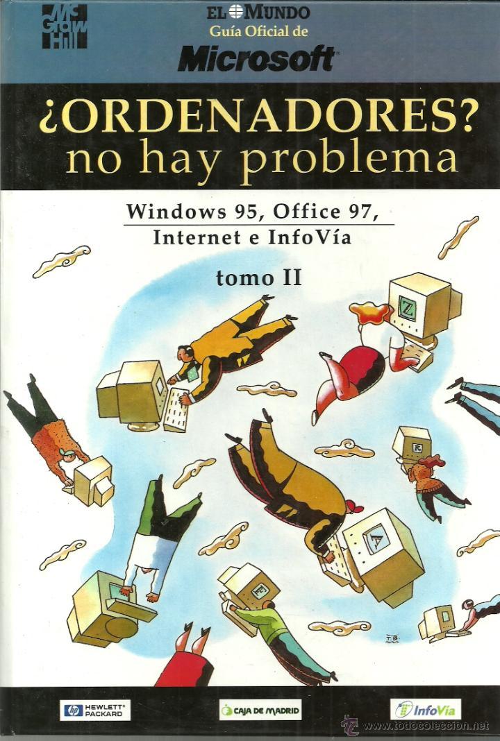 Libros de segunda mano: ¿ORDENADORES? no hay problema - Windows 95, Office 97, Internet e InfoVía - EL MUNDO - TOMO I y II - Foto 2 - 120191106