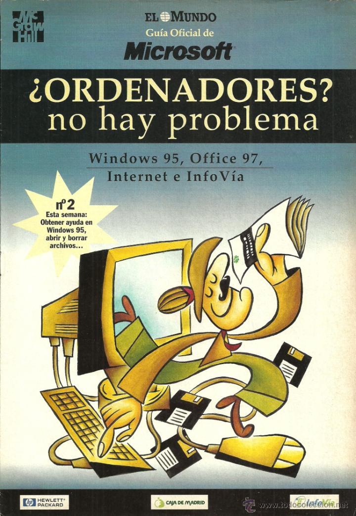 Libros de segunda mano: ¿ORDENADORES? no hay problema - Windows 95, Office 97, Internet e InfoVía - EL MUNDO - TOMO I y II - Foto 3 - 120191106