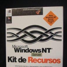 Libros de segunda mano: MICROSOFT WINDOWS NT SERVER KIT DE RECURSOS - INFORMACION TECNICA Y HERRAMIENTAS PARA PROFESIONALES. Lote 45170990