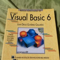 Libros de segunda mano: VISUAL BASIC 6, MICROSOFT, MANUAL IMPRESCINDIBLE, ANAYA. Lote 45800433