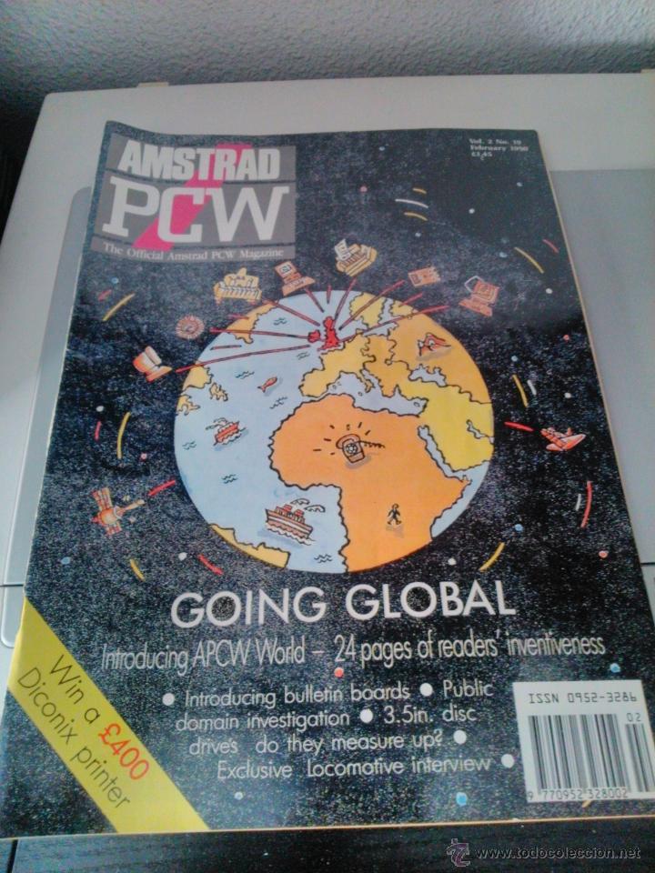AMSTRAD PCW - THE OFFICIAL AMSTRAD PCW MAGAZINE (Libros de Segunda Mano - Informática)