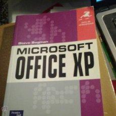 Libros de segunda mano: MICROSOFT OFFICE XP. Lote 46296339