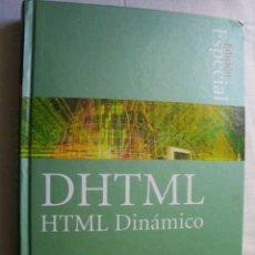 Libros de segunda mano: HTML DINÁMICO. GULBRANSEN, DAVID Y RAWLINGS, KENRICK. 2002. Lote 46398424
