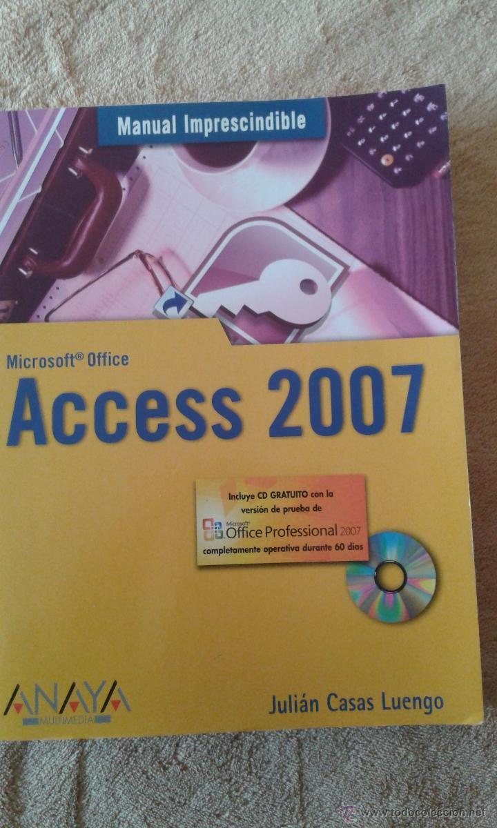 ACCESS 2007 - INCLUYE CD (Libros de Segunda Mano - Informática)