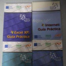 Libros de segunda mano: 4 LIBROS GUÍA PRÁCTICA : EXCEL XP - INTERNET - WORD XP - WINDOWS XP. Lote 47688692
