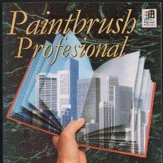 Libros de segunda mano: PAINTBRUSH PROFESIONAL PARA WINDOWS. VERSION 2.02. A-INFOR-098. Lote 47805331