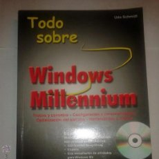 Libros de segunda mano: TODO SOBRE WINDOWS MILLENNIUM 2001 UDO SCHMIDT ( SIN CD ) MARCOMBO BOIXAREU EDITORES. Lote 48147282