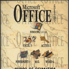 Libros de segunda mano: MICROSOFT OFFICE PROFESSIONAL. CURSO DE OFIMATICA BAJO WINDOWS. A-INFOR-175. Lote 48388327