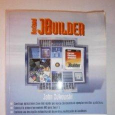 Libros de segunda mano: BORLAND JBUILDER APLICACIONES JAVA INFORMATICA JOHN ZUKOWSKI ANAYA 1998. Lote 48423704