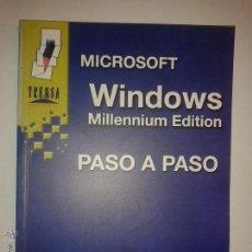 Libros de segunda mano: WINDOWS MILLENNIUM EDITION PASO A PASO 2001 FCO. JOSÉ AGREDA ROJAS Y MANUEL J. AGUILAR ED. TREMSA. Lote 48467975